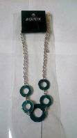 Teal circles necklace (Code 2683)